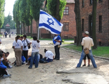 Israeli youth, Auschwitz.
