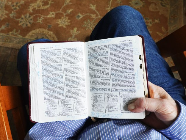 Peace in the scriptures.