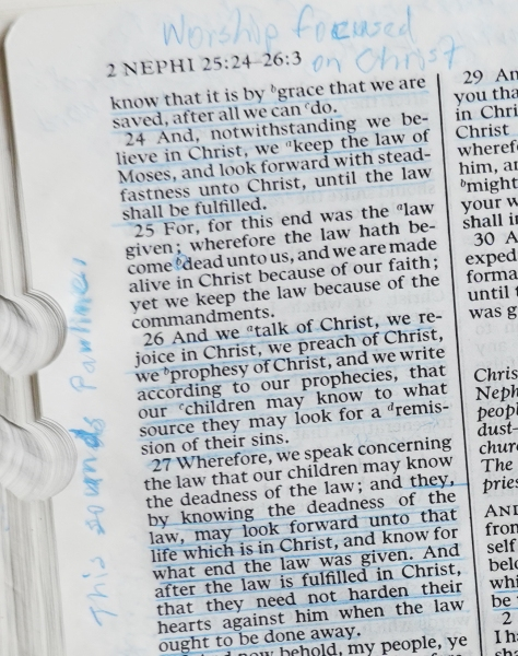 2 Nephi 25:23-27
